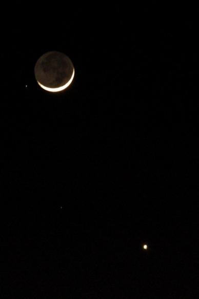 January 23rd, 2007 The Moon & Venus