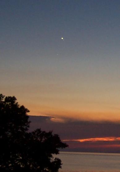 June 26th, 2005 Venus, Mercury, and Saturn