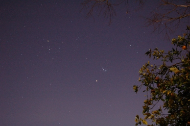 February 13th, 2006 Mars and Pleiades