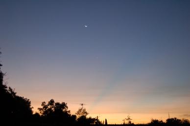 July 22nd, 2006 Moon & Venus Sunrise
