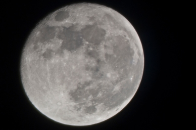 October 30th, 2012 The Moon